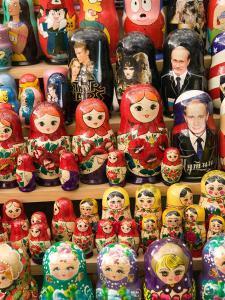 Matryoshka Nesting Dolls, Budapest, Hungary by Walter Bibikow
