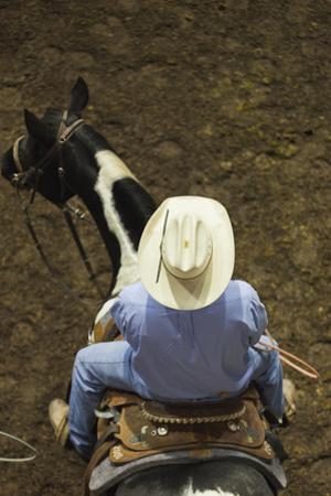 Modern Owboy, Top Down View, Oklahoma City, Oklahoma, USA