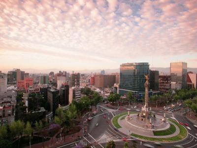 Monumento a La Independencia, Mexico City by Walter Bibikow