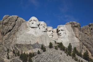 Mount Rushmore National Memorial, Keystone, South Dakota, USA by Walter Bibikow