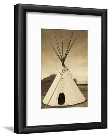 Native American Teepee, Grand Island, Nebraska, USA