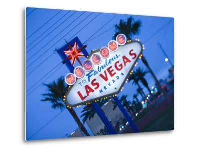 Nevada, Las Vegas, Welcome to Fabulous Las Vegas Sign, Defocussed, USA by Walter Bibikow