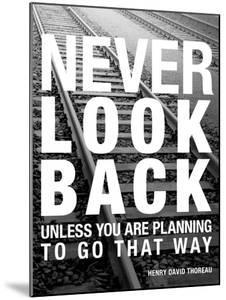 Never Look Back by Walter Bibikow