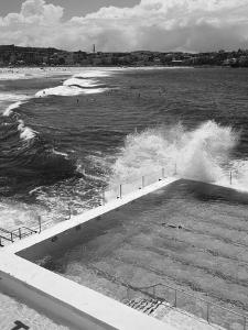 New South Wales, Sydney, Bondi Beach, Bondi Icebergs Swimming Club Pool, Australia by Walter Bibikow
