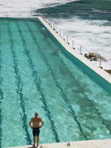 New South Wales Sydney Bondi Beach Icebergs Swimming Club Pool Australia