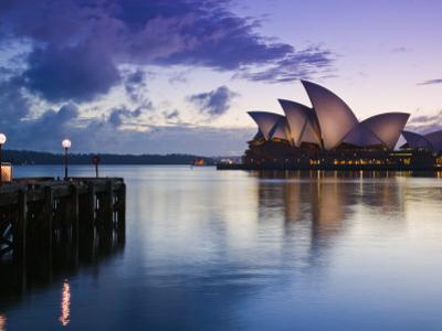 New South Wales, Sydney, Sydney Opera House, Australia by Walter Bibikow