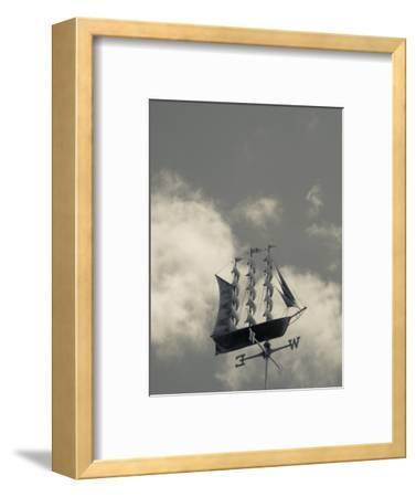 New York, Long Island, Greenport, Tall Ship Weather Vane, USA