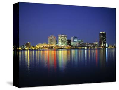 Norfolk Skyline, Virginia, USA