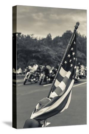 North Carolina, Charlotte, Flag at Rally of Christian Motorcycle Clubs