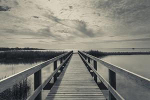 North Carolina, Outer Banks National Seashore, Corolla,Boardwalk by Walter Bibikow