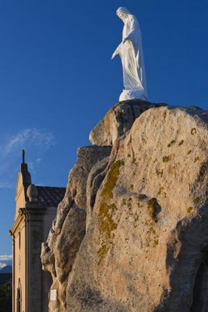 Notre Dame De La Serra Church at Dawn, Calvi, Corsica, France
