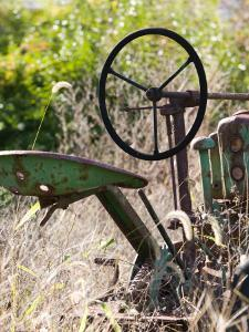 Old Abandoned Farm Tractor, Defiance, Missouri, USA by Walter Bibikow