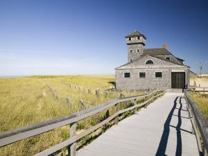Old Life Saving Station, Race Point Beach, Provincetown, Cape Cod, Massachusetts, USA by Walter Bibikow