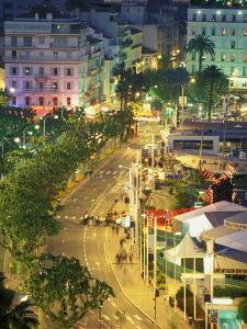 Overview of La Pantiero, Cannes, France by Walter Bibikow