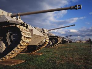 Panzer Exhibit, US Army Ordnance Museum, Aberden, Maryland, USA by Walter Bibikow