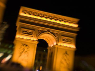 Paris Casino, Arc d' Triomphe, Las Vegas, Nevada, USA