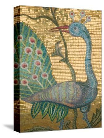 Peacock Mosaic, Eleftherotria Monastery, Macherado, Zakynthos, Ionian Islands, Greece