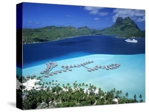Pearl Beach Resort, Bora Bora, French Polynesia by Walter Bibikow