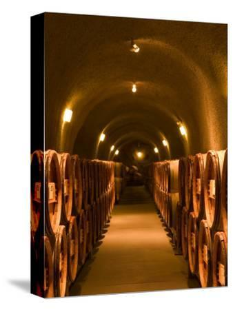 Pine Ridge Winery Cask Room, Yountville, Napa Valley, California