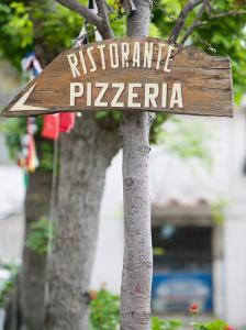 Pizzeria Sign, Positano, Amalfi Coast, Campania, Italy by Walter Bibikow