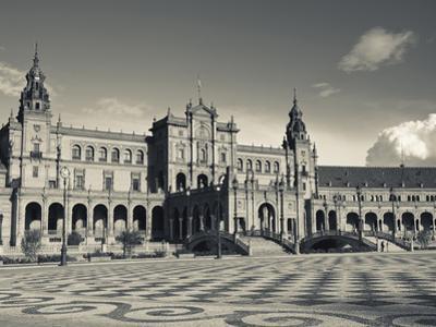 Plaza Espana, Seville, Spain by Walter Bibikow