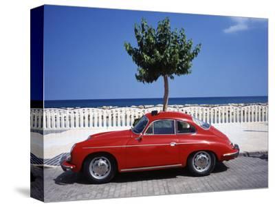 Porsche 356 on the Beach, Altea, Alicante, Costa Blanca, Spain
