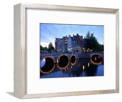 Prinsengracht Canal, Amsterdam, Holland