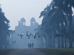 Purana Qila, Delhi, India by Walter Bibikow