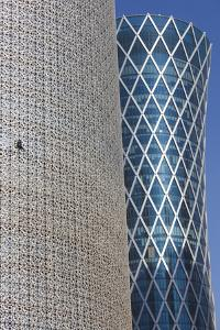 Qatar, Burj Qatar Tower by Walter Bibikow