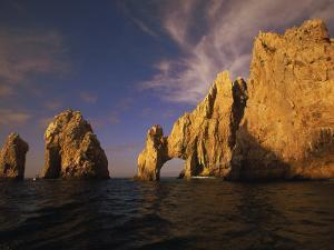 Rock Formations, Cabo San Lucas, Mexico by Walter Bibikow