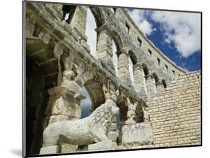 Roman Amphitheater, Pula, Istria, Croatia by Walter Bibikow