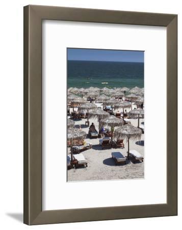 Romania, Black Sea Coast, Mamaia, Elevated Beachfront View