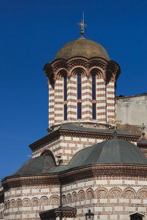 Romania, Bucharest, Lipscani Old Town, Old Princely Court Church