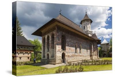 Romania, Bucovina Region, Vatra Moldovitei, Moldovita Monastery