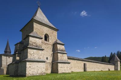 Romania, Bucovina, Sucevita, Sucevita Monastery, Exterior
