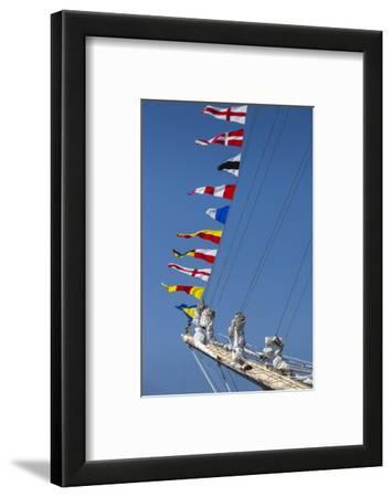 Romania, Constanta, Black Sea Tall Ships Regatta, Signal Flags