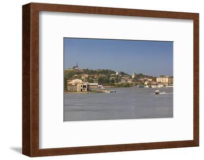 Romania, Danube River Delta, Tulcea, Danube River Waterfront