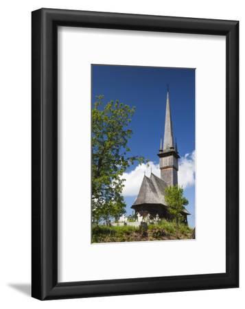 Romania, Maramures Region, Plopis, Greco-Catholic Wooden Church