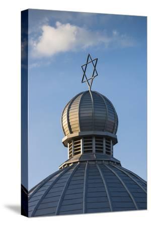 Romania, Moldavia, Iasi, the Great Synagogue, Dome with Star of David