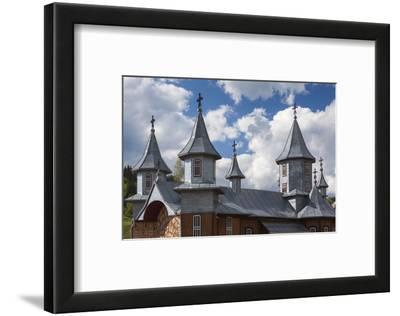 Romania, Rodna Mountains NP, Sesuri, Ski Resort, Town Orthodox Church