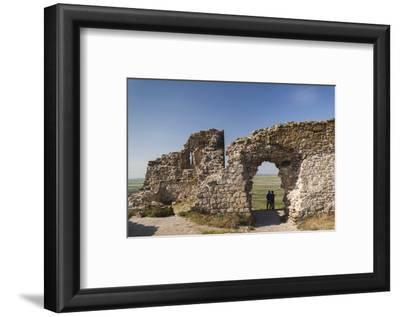 Romania, Sarichioi, Ruins of Cetatea Heracleea de La Enisala Fortress