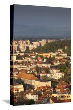 Romania, Transylvania, Brasov, New City Buildings, Sunset