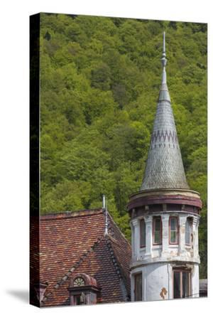 Romania, Transylvania, Sinaia, Antique Resort Building