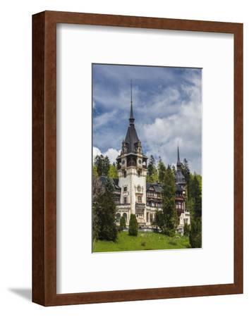 Romania, Transylvania, Sinaia, Peles Castle, Built 1875-1914