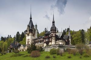 Romania, Transylvania, Sinaia, Peles Castle, Built 1875-1914 by Walter Bibikow