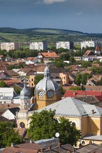 Romania, Transylvania, Targu Mures, View of the Town Synagogue by Walter Bibikow