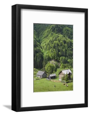 Romania, Transylvania, Tihuta Pass, Mountain Buildings of the Pass