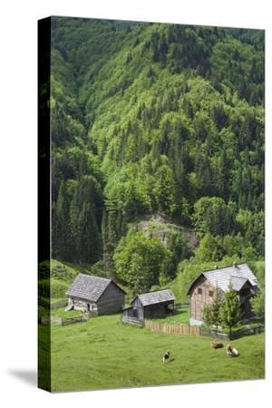 Romania, Transylvania, Tihuta Pass, Mountain Buildings of the Pass