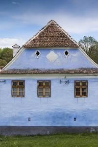 Romania, Transylvania, Viscri, Traditional Romanian Village, Supported by Prince Charles of England by Walter Bibikow