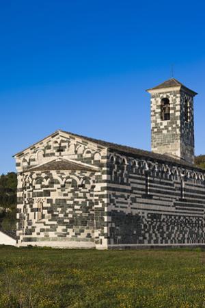 San Michele De Murato Chapel, Murato, Le Nebbio, Corsica, France